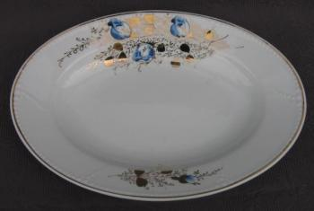 Oval Plate - 1900